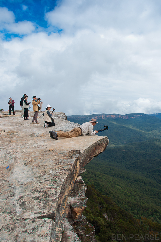 Lincoln's rock, Wentworth Falls