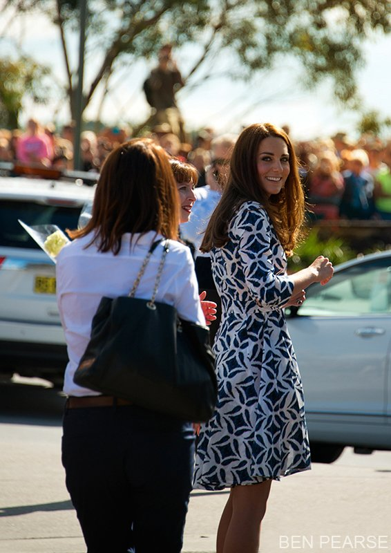 Blue mountains Royal visit princess kate
