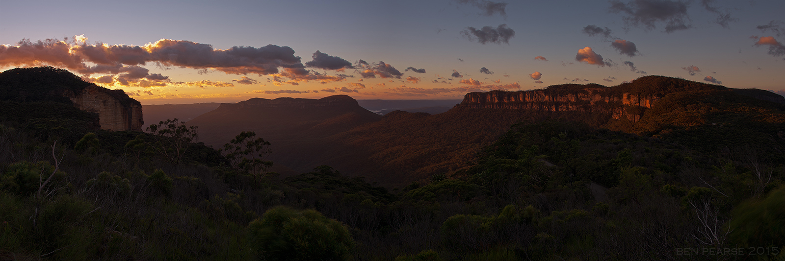 Blue Mountains Sunrise - Ben Pearse Photography