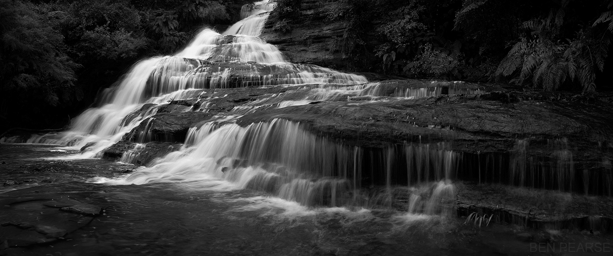 Cascade Flow - Ben Pearse Photography