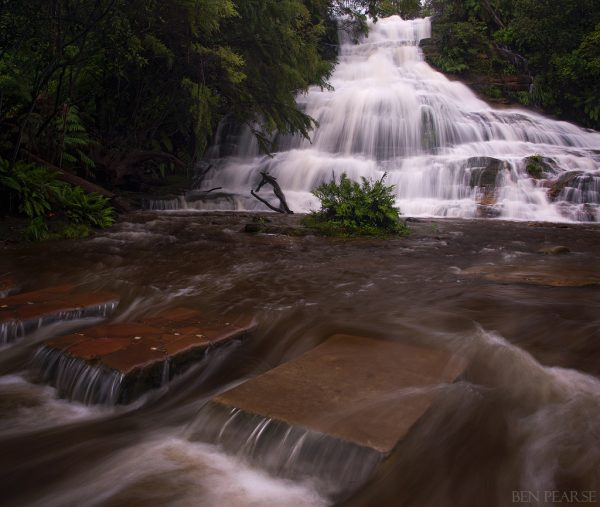 Cascades in Overflow - Ben Pearse Photography