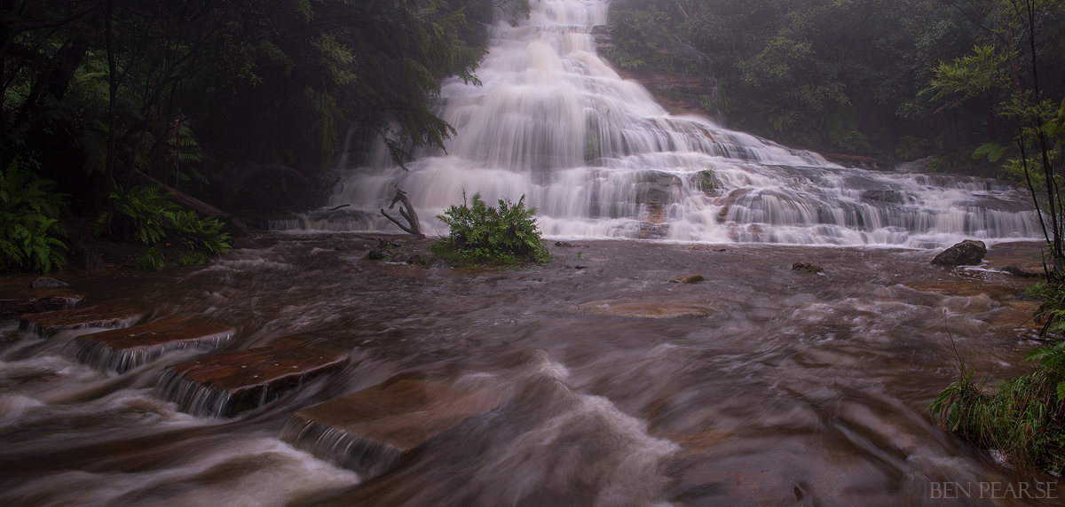 Cascading Panoramic - Ben Pearse Photography
