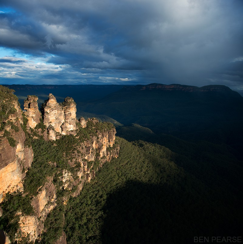 Three sisters lookout, echo point Katoomba