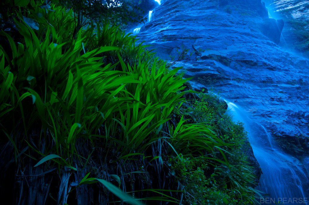 Green on Blue - Ben Pearse Photography