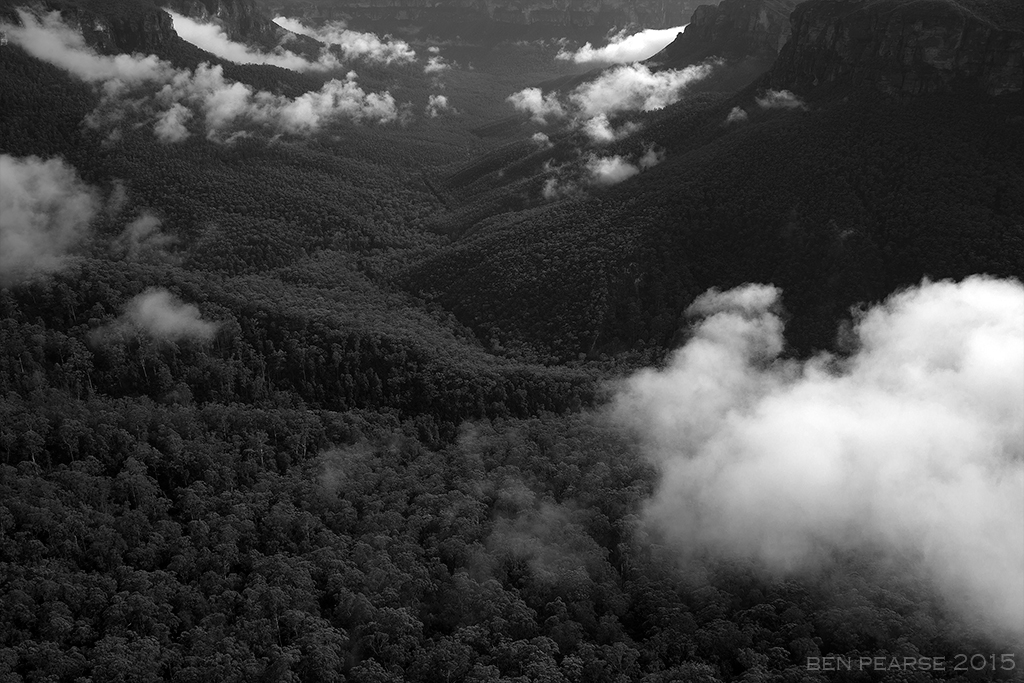 Grose Valley View - Ben Pearse Photography