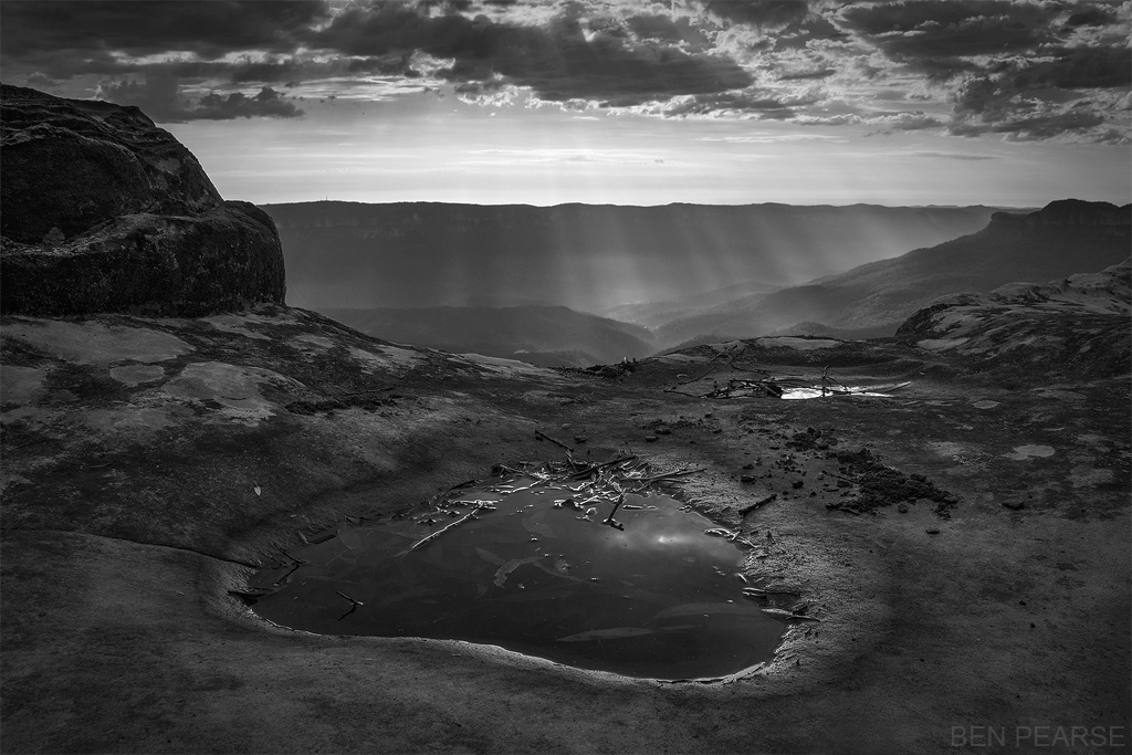 Into The Rays - Ben Pearse Photography