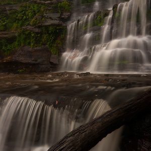 Katoomba Falls in the Rain - Ben Pearse Photography