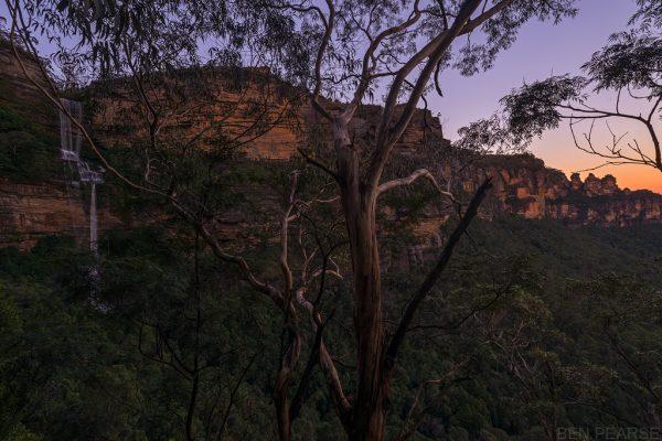Katoomba sunset - Ben Pearse Photography