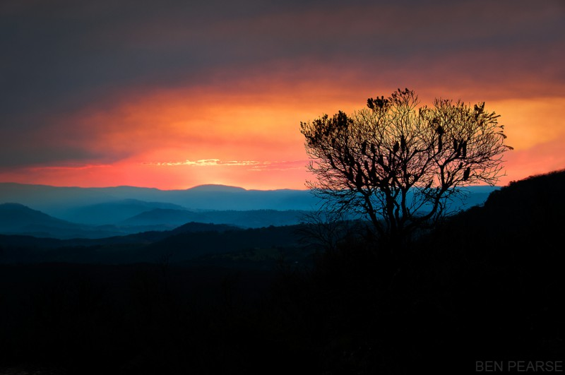 Megalong Glow - Ben Pearse photography
