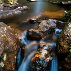 Minihaha Falls Upclose - Ben Pearse Photography
