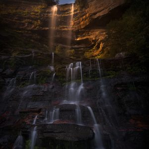 Moonrise Over Katoomba - Ben Pearse Photography