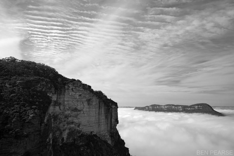 Seas of Fog - Ben Pearse Photography