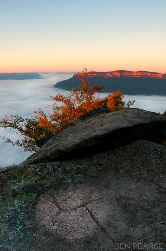 Sublime point sunrise - Ben Pearse Photography