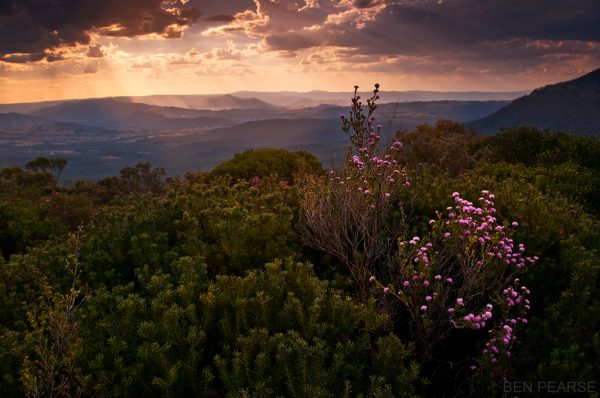 Sunset over the Metalong - Ben Pearse Photography