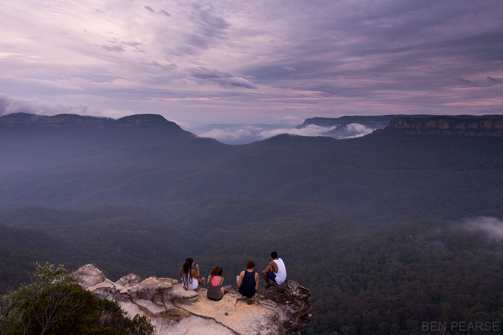 Sunset Watchers - Ben Pearse Photography