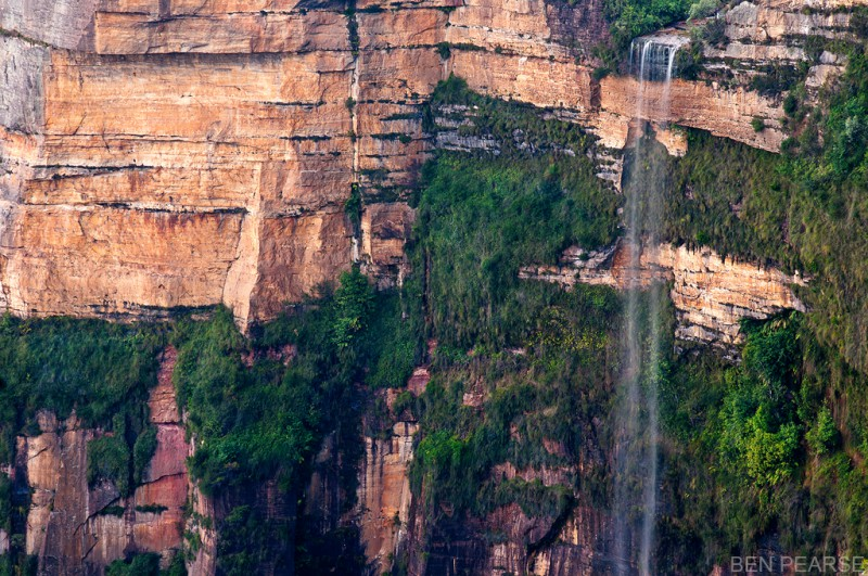 Beautifull waterfalls in the Blue Mountains