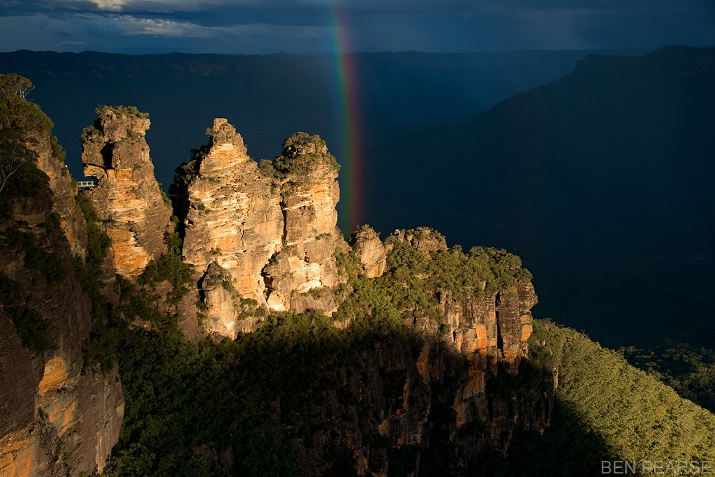 Rainbow Over Sisters