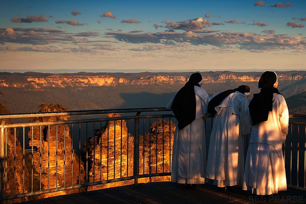 Three Sisters at the Three Sisters