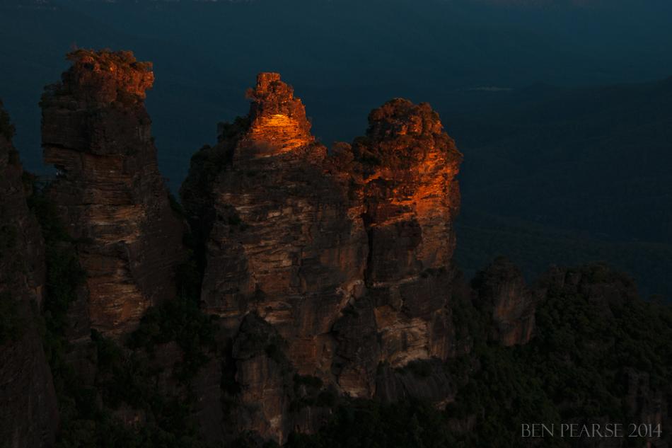 Three Sisters Glow