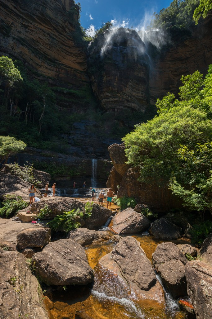 Wentworth Falls- Ben Pearse Photography