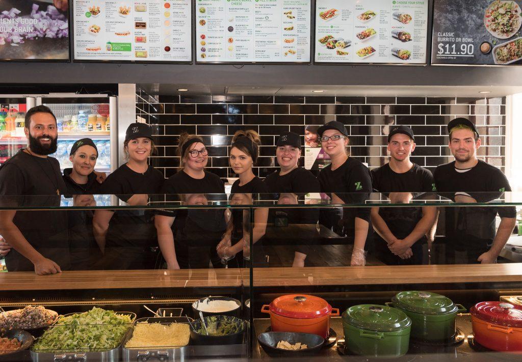 Zambrero Restaurant Opening- Lithgow