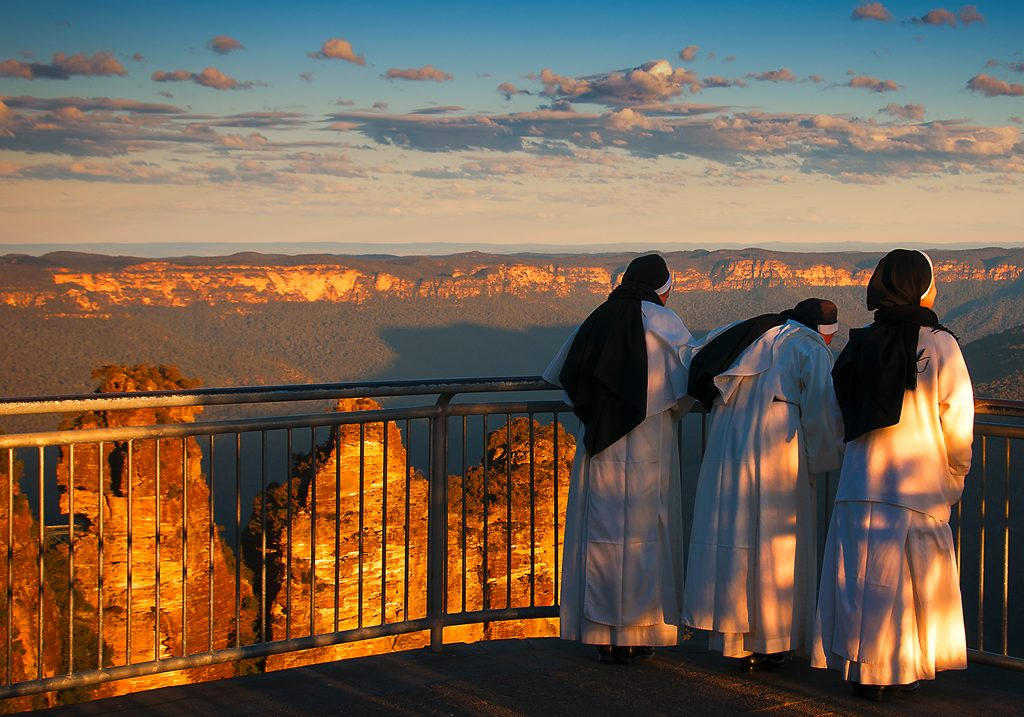 Blue Mountains photographer Ben Pearse - Three Sisters at Three Sisters