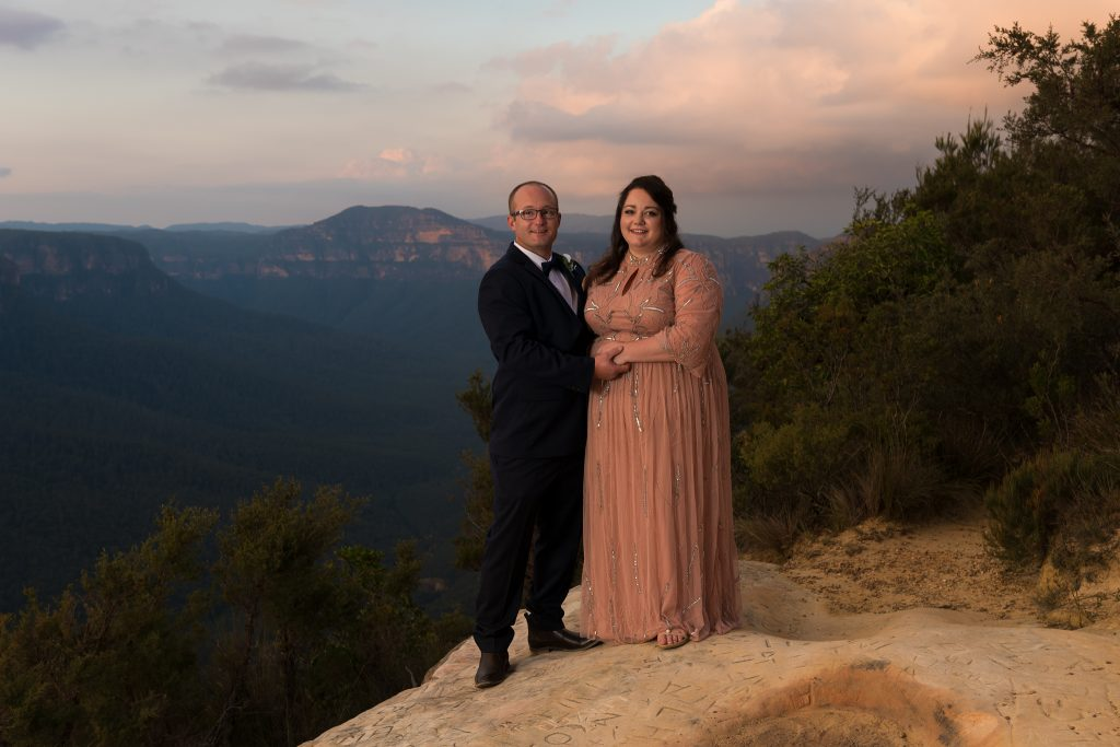 Josie and Clayton- Blue Mountains Wedding- Ben Pearse