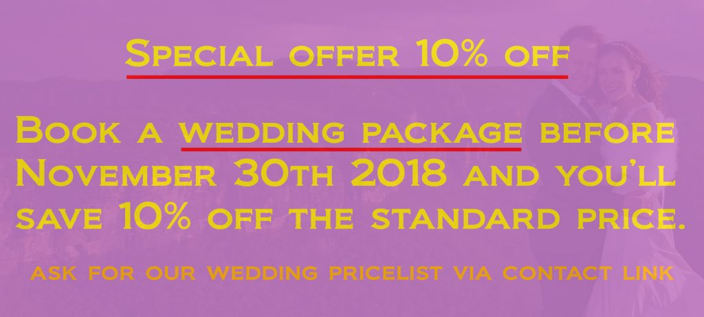 10% off wedding bookings- Ben Pearse Photography