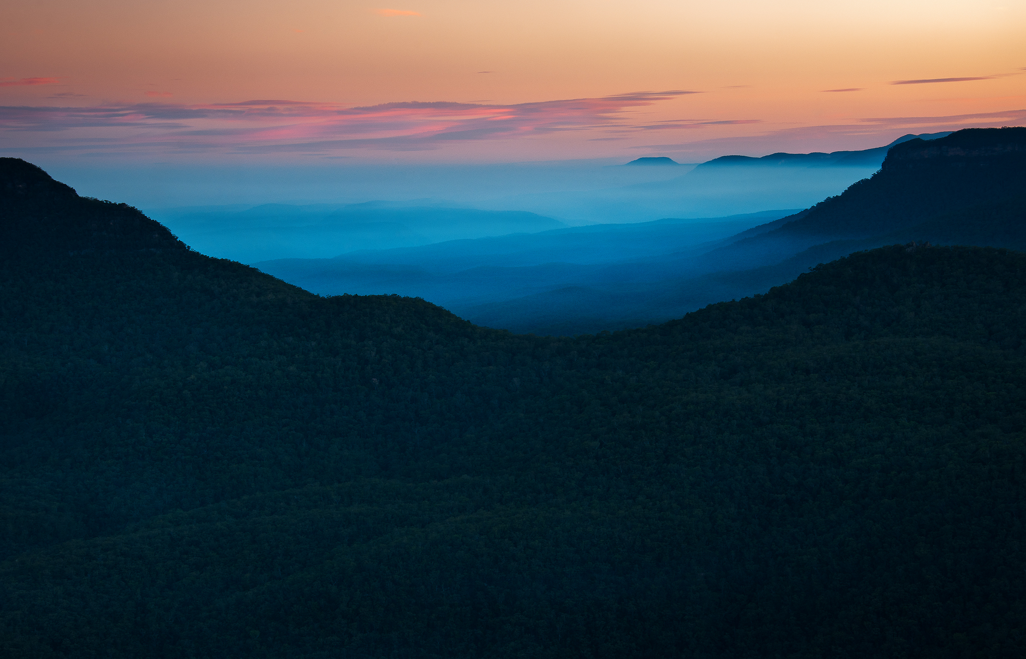 Fine Art prints- Blue Mountains- Ben Pearse