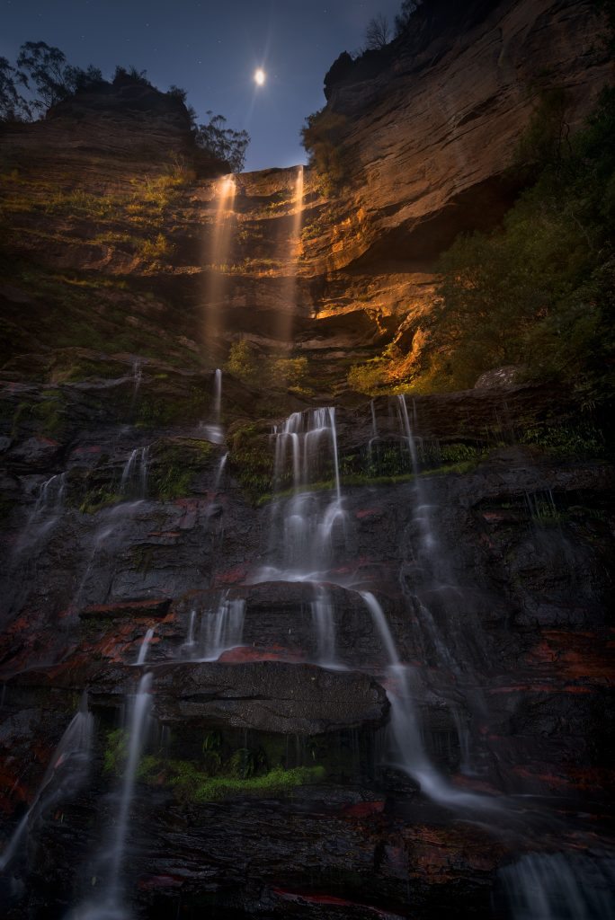 Blue mountains waterfalls- fine art prints