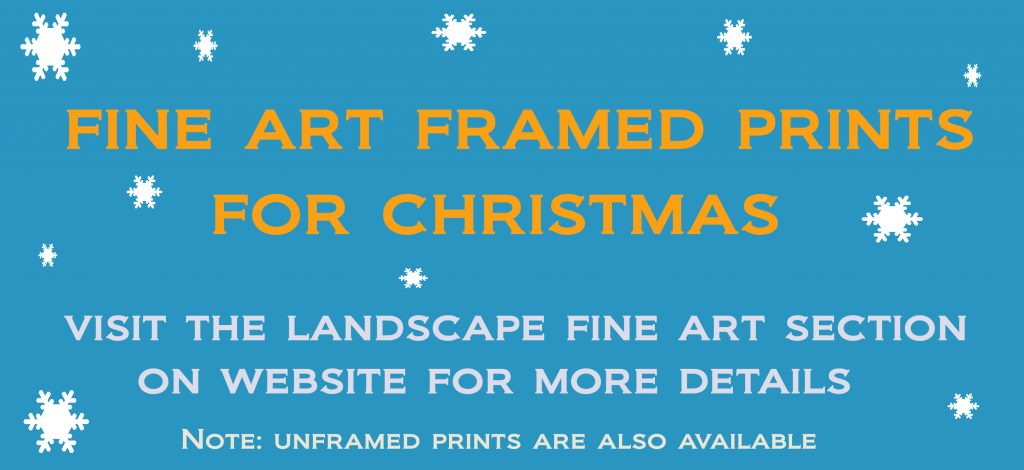 Blue mountains fine art landscape prints for Christmas