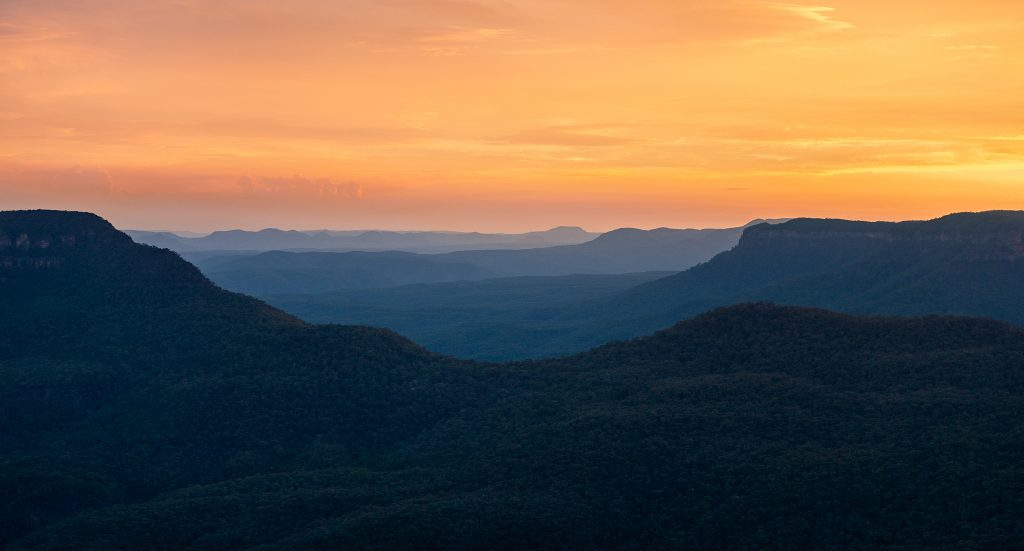 Blue Mountains fine art prints- Ben Pearse
