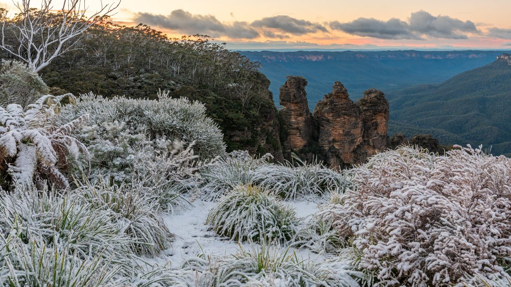 Blue Mountains snowfall- August 2019- Ben Pearse