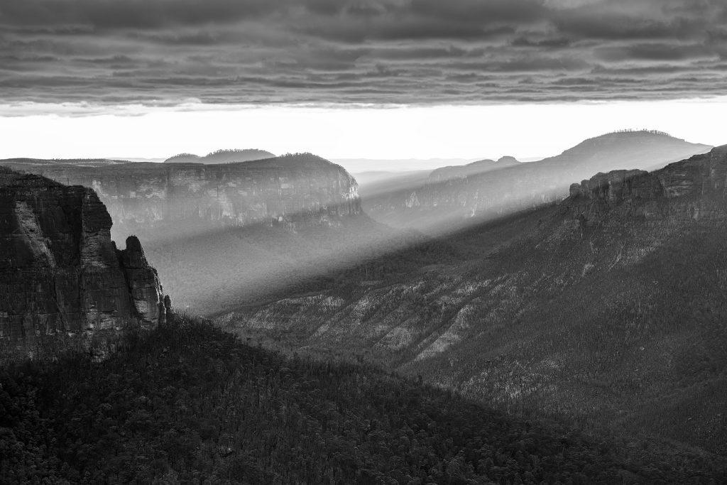 Landscape fine art black and white prints- Ben Pearse