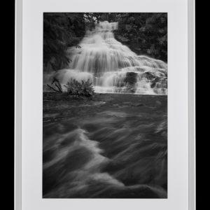 Fine art black and white landscape print